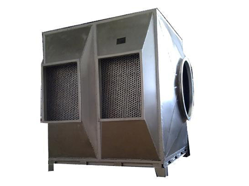 Whitening heat exchanger